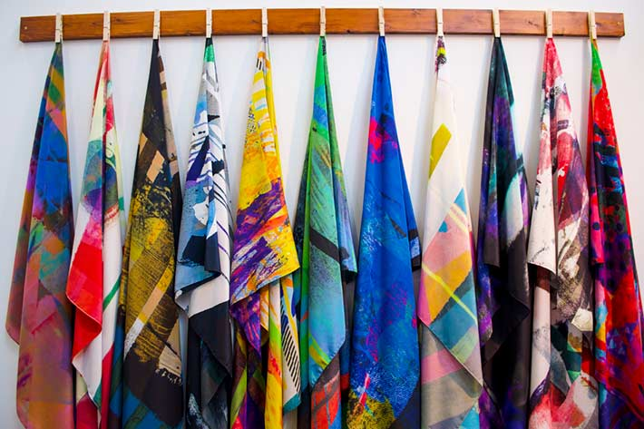 Clare O'Connor Scarves